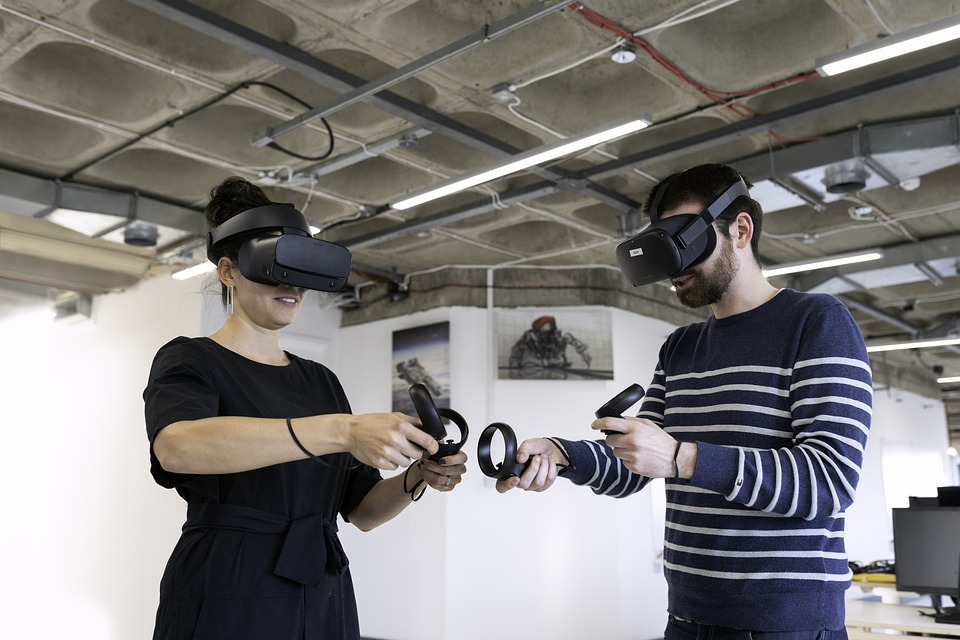 Gaming in Virtual World